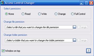Klik untuk mendownload Access Control Changer